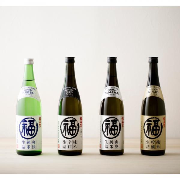 福正宗 純米吟醸 生詰 720mL