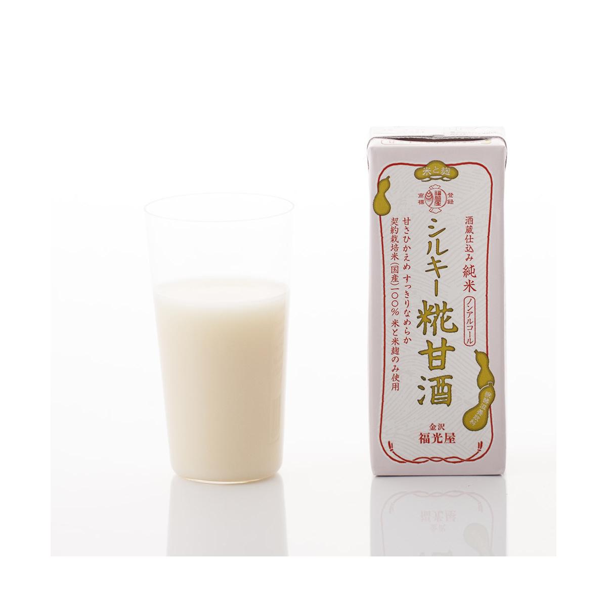 酒蔵仕込み 純米シルキー糀甘酒