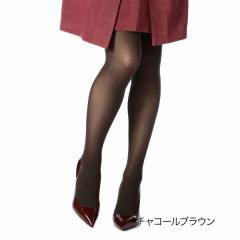 FRANTICA closet 極みニュアンスカラー 60デニール タイツ/チャコールブラウン/M-L