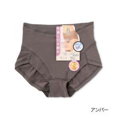 満足 【おなかリフトアップベルト】 スタンダードショーツ/アンバー/L