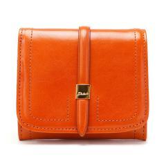 ダコタ Dakota 財布 ラシエ 二つ折り財布 小銭入れあり 財布 レザー レディース サイフ 0035686 オレンジ(34)