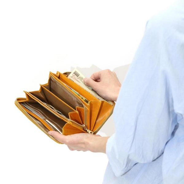 ダコタ Dakota 長財布 カッシーニ 小銭入れあり ラウンドファスナー 財布 レザー レディース サイフ 0036042 オレンジ(34)