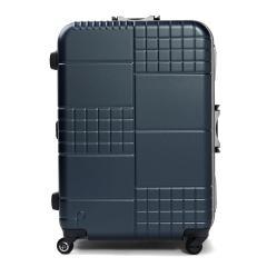 【3年保証】プロテカ スーツケース PROTeCA キャリーケース ブロックパック BLOCKPAC 90L Lサイズ 大型 軽量 7〜10泊 フレーム 旅行 ハードケース 静音 TSAロック 日本製 エース ACE 00763 ブルーグレー(03)