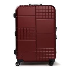 【3年保証】プロテカ スーツケース PROTeCA キャリーケース ブロックパック BLOCKPAC 90L Lサイズ 大型 軽量 7〜10泊 フレーム 旅行 ハードケース 静音 TSAロック 日本製 エース ACE 00763 コロナレッド(10)