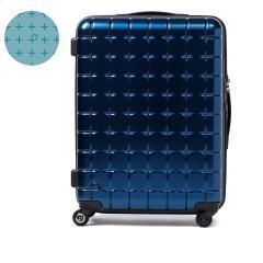 【セール】プロテカ スーツケース PROTeCA プロテカ サンロクマル 360エス メタリック キャリーケース 61L Mサイズ 軽量 5~6泊 360s METALLIC ジッパー 旅行 軽量丈夫 4輪 02723 エース ACE ネイビー(03)