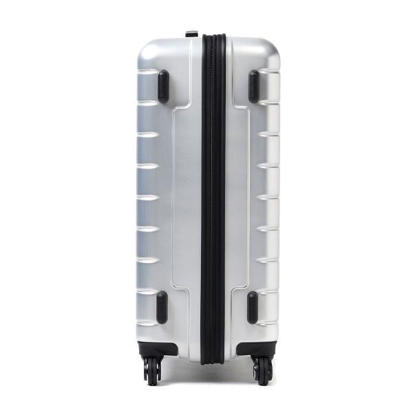 プロテカ スーツケース PROTeCA プロテカ サンロクマル 360エス メタリック キャリーケース 61L Mサイズ 軽量 4~5泊 360s METALLIC ジッパー 旅行 軽量丈夫 4輪 02723 エース ACE シルバー(11)
