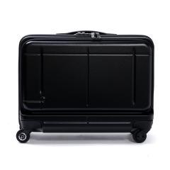【3年保証】プロテカ スーツケース PROTeCA プロテカ 機内持ち込み 37L マックスパス ビズ MAXPASS Biz フロントオープン ポケット 1〜2泊 キャリーケース キャリーバッグ 小型 Sサイズ ファスナー ハード 出張 ビジネス 旅行 エース ACE 02763 ブラック(01)