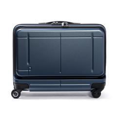 【3年保証】プロテカ スーツケース PROTeCA プロテカ 機内持ち込み 37L マックスパス ビズ MAXPASS Biz フロントオープン ポケット 1〜2泊 キャリーケース キャリーバッグ 小型 Sサイズ ファスナー ハード 出張 ビジネス 旅行 エース ACE 02763 ブルーグレー(03)
