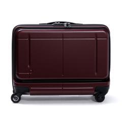 【セール】プロテカ スーツケース PROTeCA プロテカ 機内持ち込み 37L マックスパス ビズ MAXPASS Biz フロントオープン ポケット 1~2泊 キャリーケース キャリーバッグ 小型 Sサイズ ファスナー ハード 出張 ビジネス 旅行 エース ACE 02763 ワイン(09)