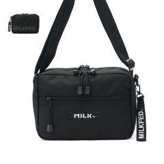 ミルクフェド ショルダー MILKFED.  NEO SHOULDER BAG BAR ショルダーバッグ バッグ 軽量 斜めがけ カジュアル レディース 03182097 ブラック