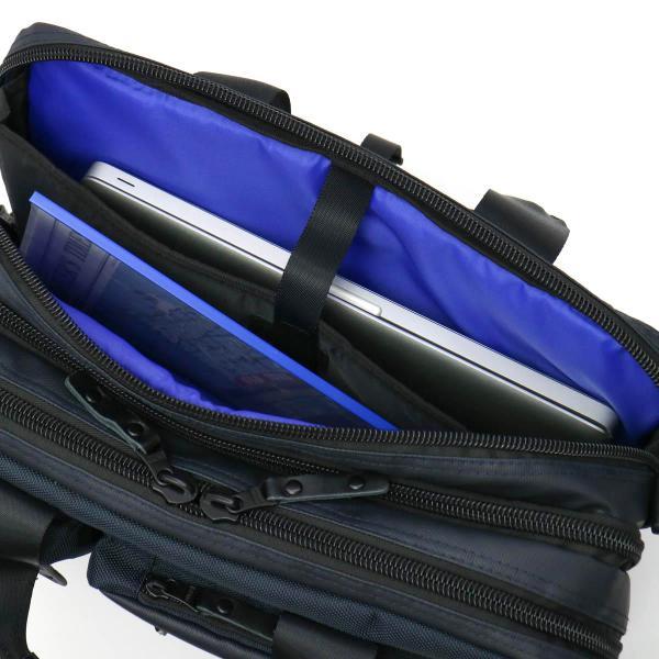 アルファインダストリーズ バッグ 3WAY ブリーフケース(B4対応) ALPHA INDUSTRIES BLUE LINE ブルーライン 3WAY ビジネスバッグ メンズ ショルダー付 出張 通勤 4724 ネイビー