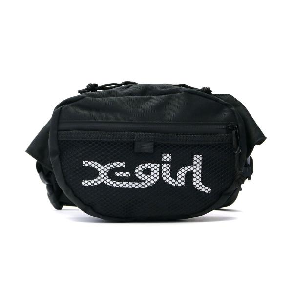 4c4fd386153e エックスガール ウエストポーチ X-girl ウエストバッグ ヒップバッグ LOGO HIP BAG ボディバッグ