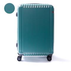 【5年保証】エース スーツケース ace. スーツケース パリセイドZ Palisades-Z キャリーケース ace.TOKYO エーストーキョー ファスナー 62L 5〜6泊 Mサイズ ハード 旅行 軽量 05584 ヘアライングリーン(04)