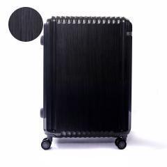 【5年保証】エース スーツケース ace. スーツケース パリセイドZ Palisades-Z キャリーケース ace.TOKYO エーストーキョー ファスナー 98L 10~14泊 Lサイズ ハード 旅行 大容量 05585 ヘアラインブラック(01)