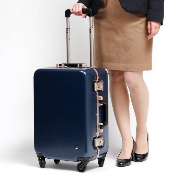 5fe514b195 ... ハント スーツケース HaNT キャリーケース ラミエンヌ la mienne 機内持ち込み 30L フレーム 軽量 TSAロック ...