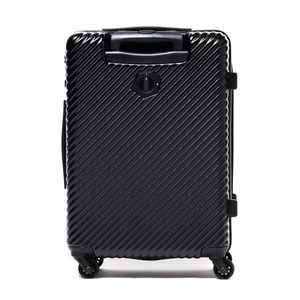 ハント スーツケース HaNT ハント マイン mine Ltd キャリーケース 47L 限定カラー ブラック ファスナー 軽量 1~3泊 旅行 ACE エース 06054 ブラック(01)