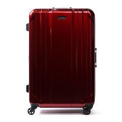 ワールドトラベラー スーツケース World Traveler キャリーケース SAGRES サグレス フレーム 91L 10泊 大型 Lサイズ 大容量 長期 海外旅行 ハード 旅行 軽量 キャスターストッパー ACE エース 06063 レッド(10)