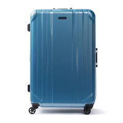 ワールドトラベラー スーツケース World Traveler キャリーケース SAGRES サグレス フレーム 91L 10泊 大型 Lサイズ 大容量 長期 海外旅行 ハード 旅行 軽量 キャスターストッパー ACE エース 06063 ブルーカーボン(15)