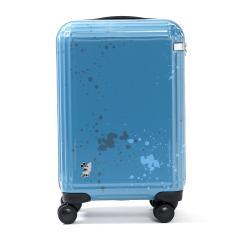エース スーツケース ace. ディズニー スーツケース 機内持ち込み サーフィンミッキー Surfing Mickey 限定 キャリーケース ace.TOKYO エーストーキョー ファスナー 32L 1~2泊程度 小型 Sサイズ TSAロック 06121 ブルー(15)