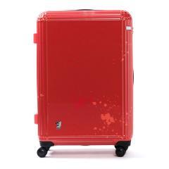 エース スーツケース ace. ディズニー スーツケース サーフィンミッキー Surfing Mickey 限定 キャリーケース ace.TOKYO エーストーキョー ファスナー 81L 7~10泊程度 大型 Lサイズ TSAロック 06123 レッド(10)