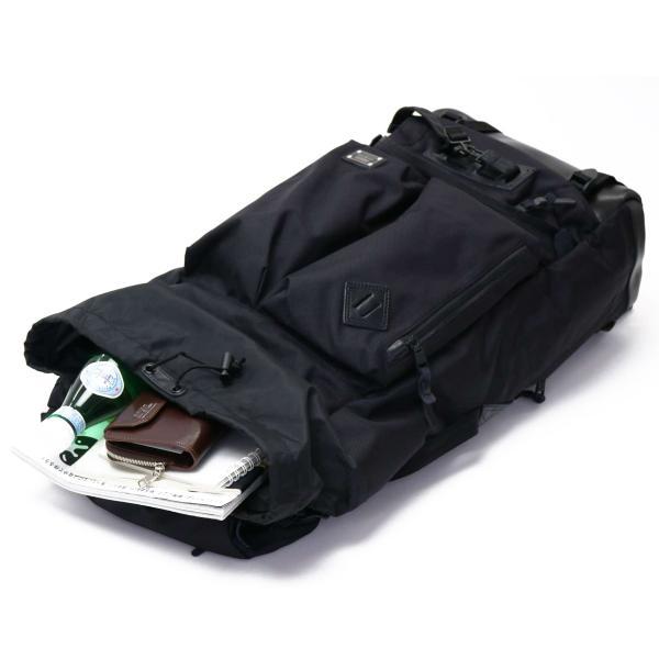 AS2OV アッソブ リュックサック バックパック  EXCLUSIVE BALLISTIC NYLON フラップ メンズ 061307 ブラック(10)
