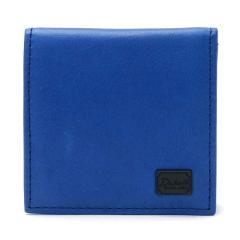 <LOHACO> Dakota ダコタブラックレーベル コインケース BLACK LABEL ワキシー メンズ 革 box型小銭入れ レディース 本革 0625906 ブルー(65)