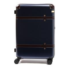 【5年保証】エース スーツケース ace. サークルZ Circle-Z キャリーケース ace.TOKYO エーストーキョー ファスナー 58L 3~5泊 中型 Mサイズ 旅行 カバー 06342 ネイビー(03)