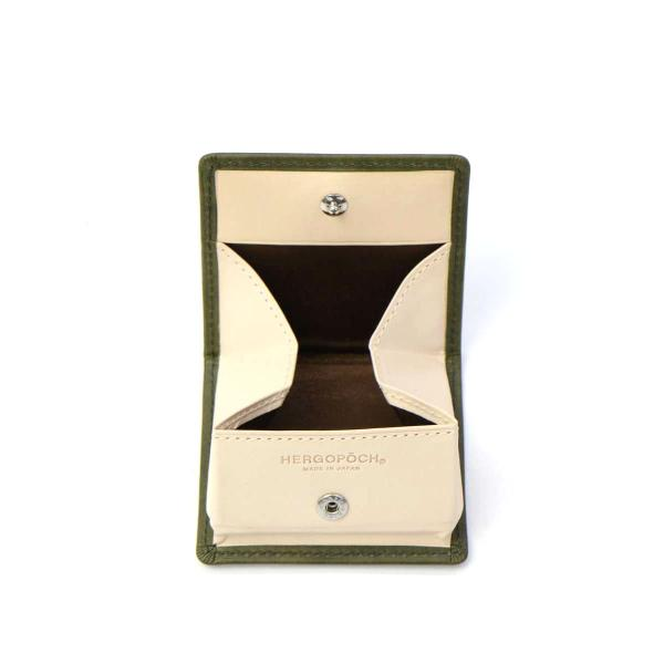 エルゴポック コインケース HERGOPOCH 小銭入れ  06 Series 革 メンズ レディース 06W-BOX ブラウン