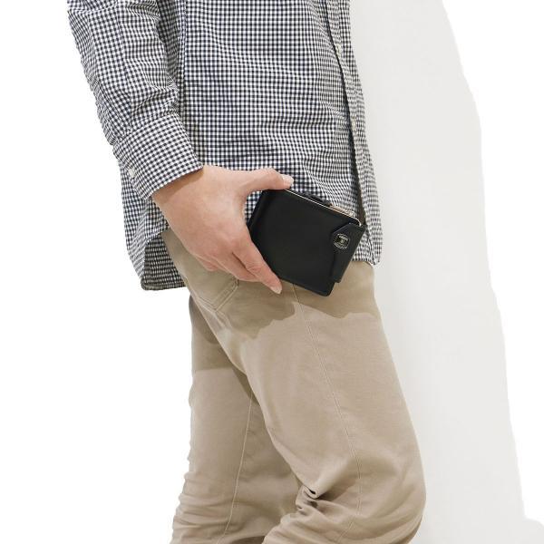 アッソブ 財布 AS2OV マネークリップ 小銭入れ付き レザー GLASS LEATHER WALLET MONEY CLIP 二つ折り財布 本革 メンズ レディース ASSOV 071702 ブラック(10)