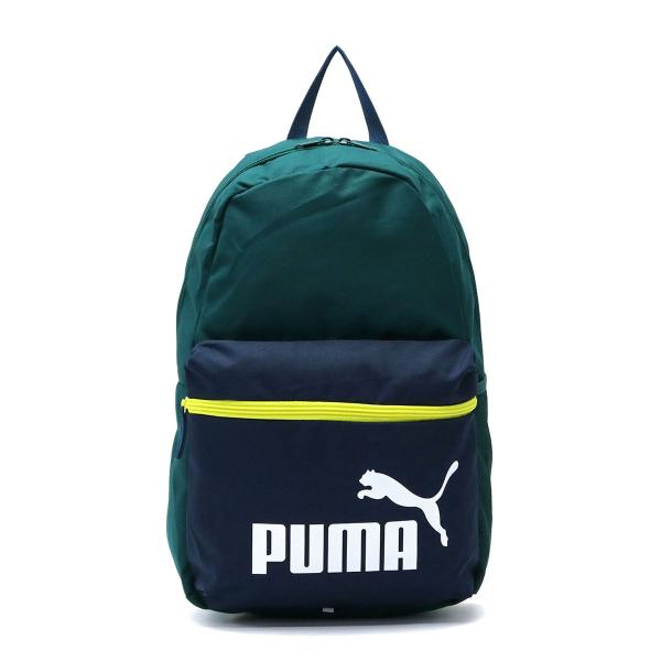 プーマ リュック PUMA リュックサック バックパック メンズ レディース フェイズ デイパック A4 スポーティー 通学 075487 ポンデローサパイン(15)