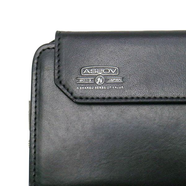 アッソブ 財布 長財布 AS2OV レザー アッソブ LEATHER MOBILE WALLET モバイルウォレット iPhone6S Plus iPhone6 Plus メンズ ASSOV 081600 キャメル(24)