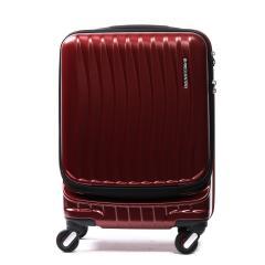 フリクエンター クラムアドバンス FREQUENTER スーツケース CLAM ADVANCE キャリーケース 機内持ち込み 34L 軽量 エンドー鞄 ファスナー 旅行 1~2泊程度 静音 1-216 ワイン