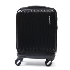 フリクエンター クラムアドバンス FREQUENTER スーツケース CLAM ADVANCE キャリーケース 機内持ち込み 23L コインロッカー 軽量 エンドー鞄 ファスナー 旅行 1泊程度 静音 1-217 ブラック
