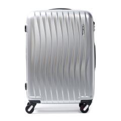 フリクエンター ウェーブ スーツケース FREQUENTER WAVE フリクエンター スーツケース 56L Sサイズ エンドー鞄 TSAロック 3~5泊程度 4輪 ファスナー キャリーケース 旅行カバン 旅行バッグ 1-621 シルバーメタリック