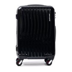 フリクエンター スーツケース FREQUENTER WAVE フリクエンター ウェーブ スーツケース 機内持ち込み 34L Sサイズ エンドー鞄 TSAロック 1~2泊程度 4輪 ファスナー キャリーケース 旅行カバン 旅行バッグ 1-622 ブラック