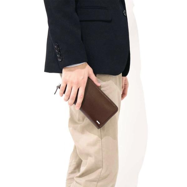 吉田カバン ポーター 財布 ポーター シーン PORTER SHEEN 長財布 吉田カバン ラウンドファスナー メンズ レディース 110-02968 ブラウン(60)