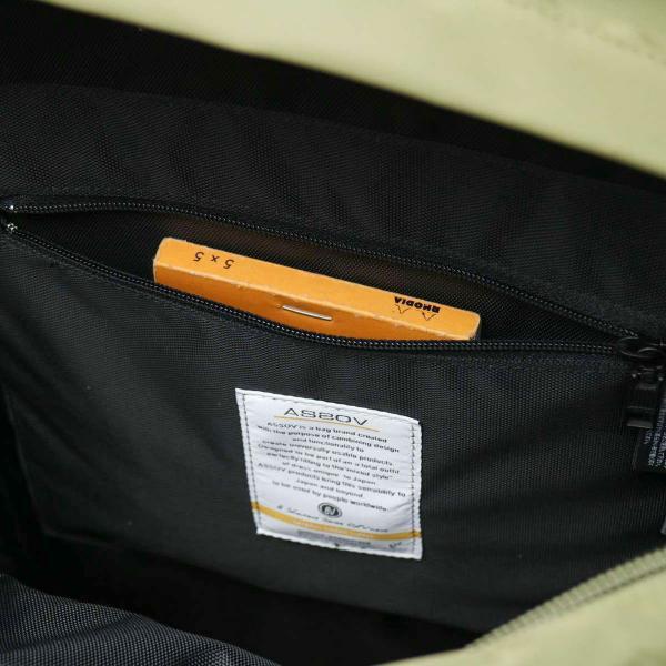 AS2OV アッソブ リュック リュックサック バックパック 210D NYLON TWILL メンズ 121600 ネイビー(75)