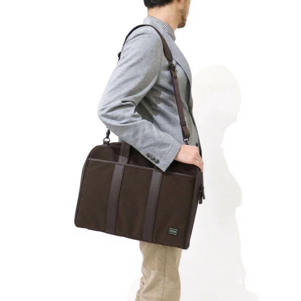 吉田カバン ポーター ターク PORTER TAG 2WAYブリーフケース(A4対応) ビジネスバッグ メンズ 吉田かばん 125-04489【送料無料】ポーターバッグ ブラック