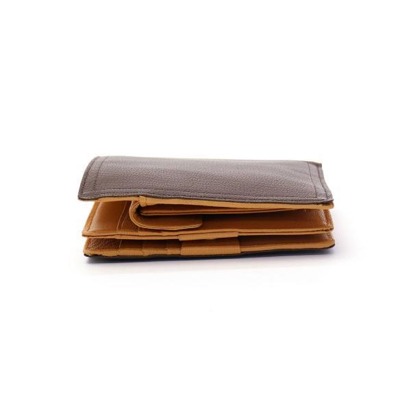 吉田カバン ポーター ダブル PORTER DOUBLE 二つ折り財布 財布 さいふ サイフ メンズ レディース 吉田かばん 129-06012【送料無料】ポーターバッグ ブラック×オレンジ