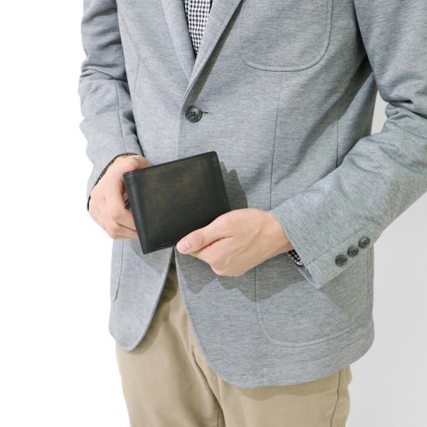 コルボ  corbo. 財布 二つ折財布 二つ折り財布 CORBO コウブン カーフレザー Koubun Calf Leather メンズ 革 1LH-0802【送料無料】 12/18 ベージュ(03)