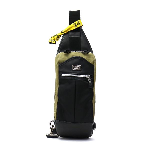 ジャコモバレンティーニ ボディバッグ GIACOMO VALENTINI ワンショルダーバッグ YMPETO-G3 01 キャンバス ナイロン レザー メンズ レディース 300001 NERO(ブラック)