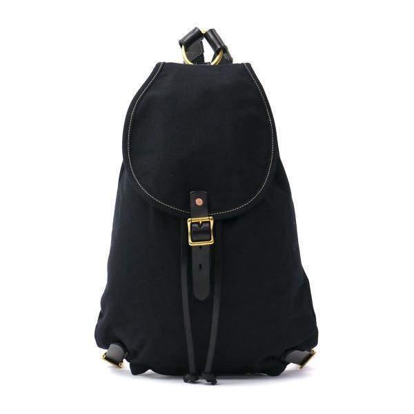 スロウ ナップサック SLOW COLORS カラーズ Napsac リュックサック メンズ レディース 帆布 300S50E ブラック(10)