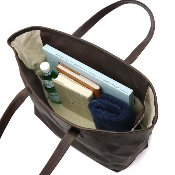 スロウ トートバッグ SLOW smooth horse スムースホース tools tote bag L トート 大きめ B4 本革 馬革 メンズ レディース 300S78G チョコ(23)