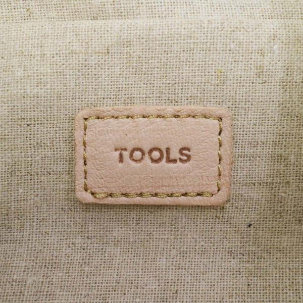 ツールス トートバッグ Tools by SLOW ツールスバイスロウ DEER MEDICAL POUCH TOTE BAG バッグ 巾着 ポーチ 鹿革 レザー 本革 革 メンズ レディース ツールズ 306T48F ブラック(10)