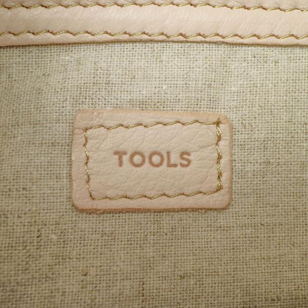 ツールズ ショルダーバッグ Tools by SLOW ツールズバイスロウ FEED SACK LARGE 斜めがけ ショルダー DEER 鹿革 レザー 本革 革 メンズ レディース 306T61G ブラック(10)