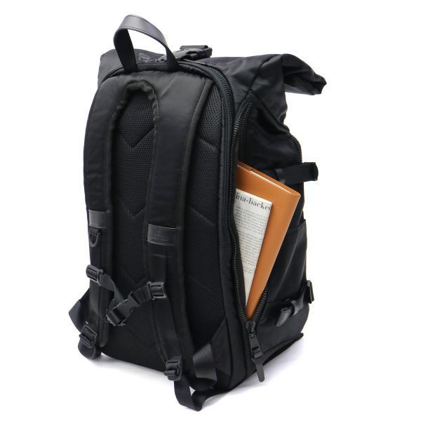 マキャベリック リュック MAKAVELIC バックパック LIMITED EXCLUSIVE ROLLTOP BACKPACK 大容量 ロールトップ PC収納 メンズ レディース 通学 3108-10105 BLACK