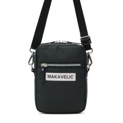 マキャベリック ショルダーバッグ MAKAVELIC バッグ 斜めがけバッグ LUDUS BOX-LOGO POUCH BAG ルーダス ミニショルダー メンズ レディース 3108-10503 SILVER