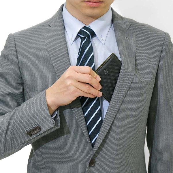 ノイインテレッセ 財布 Neu interesse 二つ折り Attrito アットリート 二つ折り財布 メンズ 小銭入れあり 革 レザー 日本製 3121 ブラックxカーキ(06)