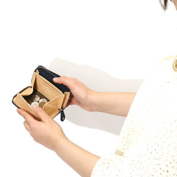 クリード コインケース Creed 小銭入れ ENERGY エナジー coin case 牛革 レザー メンズ レディース 312C883 ネイビー(75)