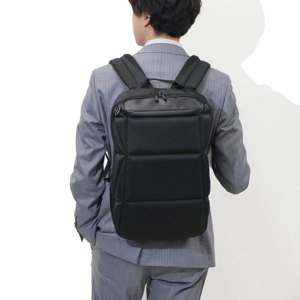 エース バックパック ace リュック リュックサック Carapac キャラパック ace.TOKYO エーストーキョー ビジネス PC収納 31831 ブラック(01)